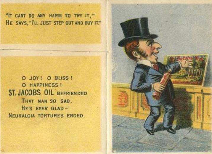 Neuralgia Man (St. Jacob's Oil)