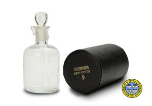 British Chloroform Drop Bottle