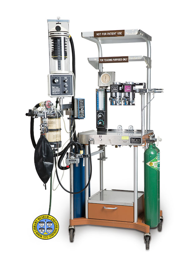 Image of Ohio 30/70 Proportioner Anesthesia Machine - 1 of 3