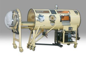 Iron Lung side view opened tank