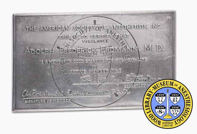 Erdmann Certificate