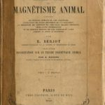 Image of Bersot E. Mesmer et le magnétisme animal, 1853. - 1 of 1