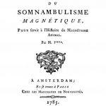Image of Fournel JF. Essai sur les probabilités du somnambulisme magnétique: pour servir à l'histoire du magnétisme animal, 1785. - 1 of 1