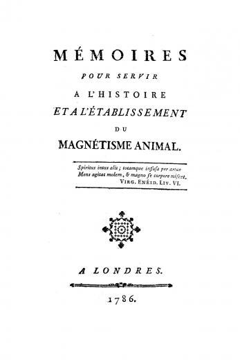 Image of Chastenet de Puységur AMJ. Mémoires pour servir a l'histoire et a l'établissement du magnetisme animal, 1786.  Suite des mémoires pour servir a l'histoire et l'établissement du magnetisme animal, 1785. - 1 of 1