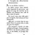 Image of Eprémesnil JJ. Suite des réflexions préliminaires à l'occasion des Docteurs modernes, 1784. - 1 of 1