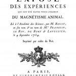 Image of Baily JS. Exposé des expériences qui ont été faites pour l'examen du magnétisme animal, 1784. - 1 of 1