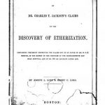 Image of Lord JL, Lord HC. A defence of Dr. Charles T. Jackson's claims to the discovery of etherization : containing testimony disproving the claims set up in favor of Mr. W.T.G. Morton, in the report of the trustees of the Massachusetts General Hospital, and in no. 201 of Littell's Living Age, 1848. - 1 of 1