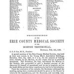 Image of Proceedings of the Erie County Medical Society on the Morton testimonial, 1865. - 1 of 1