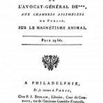 Image of Anonymous. Récit de l'avocat-général de *** aux chambres assemblées du public, sur le magnétisme animal, 1785. - 1 of 1