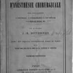 Image of Rottenstein JB. Traité théorique et pratique d'anestyhésie chirurgicale avec applications a l'obstétrique, a l'ophthalmologie, a l'art dentaire, a la médecine légale, etc, 1879. - 1 of 1