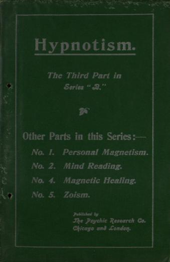 Image of A course of practical psychic instruction: Part 3 of Series - 1 of 1