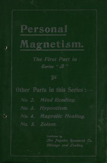 Image of A course of practical psychic instruction: Part 1 of Series - 1 of 1