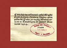 Egidius' 1484 De Pulsibus