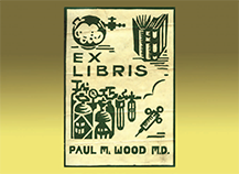 Paul M. Wood's Bookplate