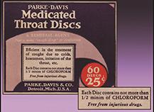 P-D CHCl3 Throat Discs