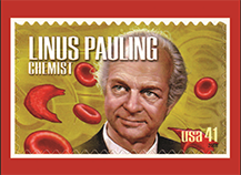 Pauling 41-cent Stamp