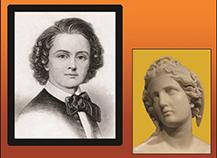 Sculptor Harriett Hosmer